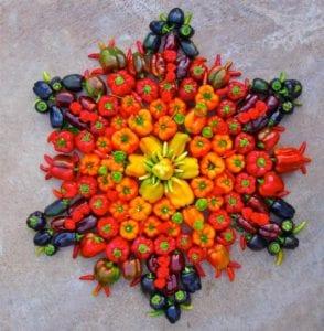 veggie-mandala