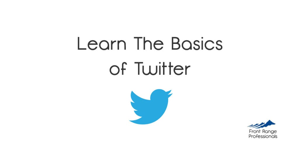 Learning The Basics Of Twitter