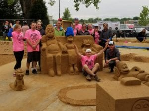 Arvada Young Professionals Win Sand in the City Sculpture Contest